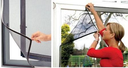 Để việc sử dụng cửa lưới chống muỗi hiệu quả