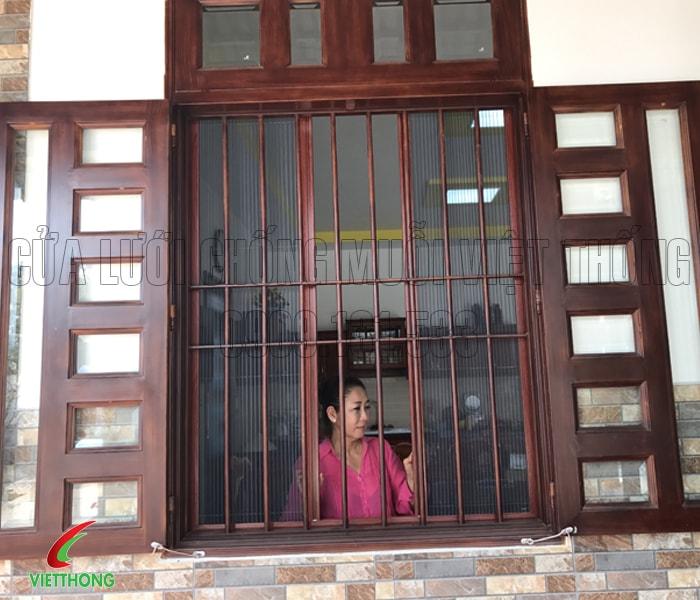 Cửa lưới chống muỗi quận Tân Phú
