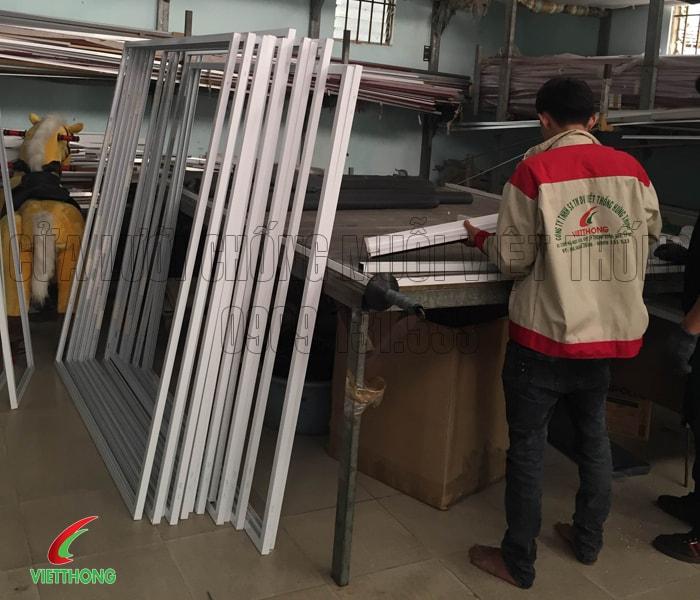 Cửa lưới chống muỗi dạng cố định giá tốt nhất TPHCM