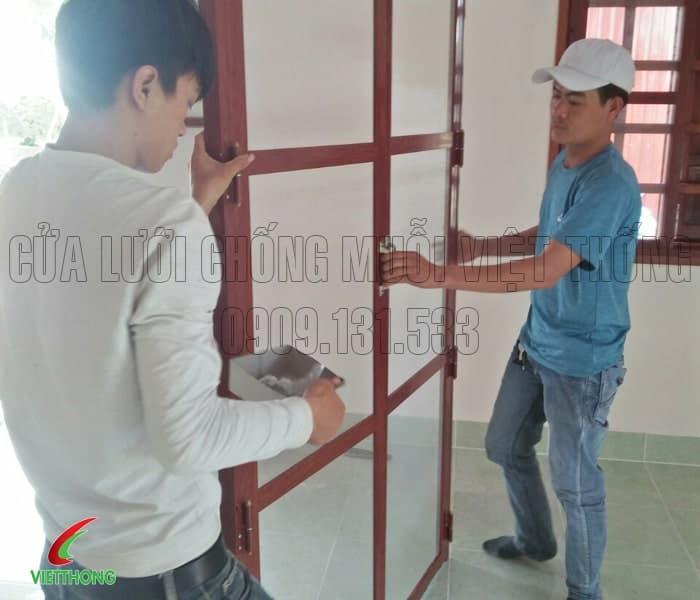 Thi công lắp đặt cửa lưới chống côn trùng tại tỉnh An Giang