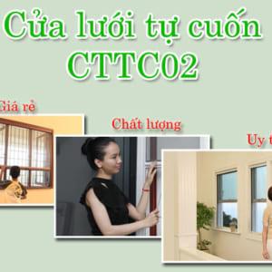 Cửa lưới côn trùng CTTC02 TỰ CUỐN tại TPHCM giá rẻ