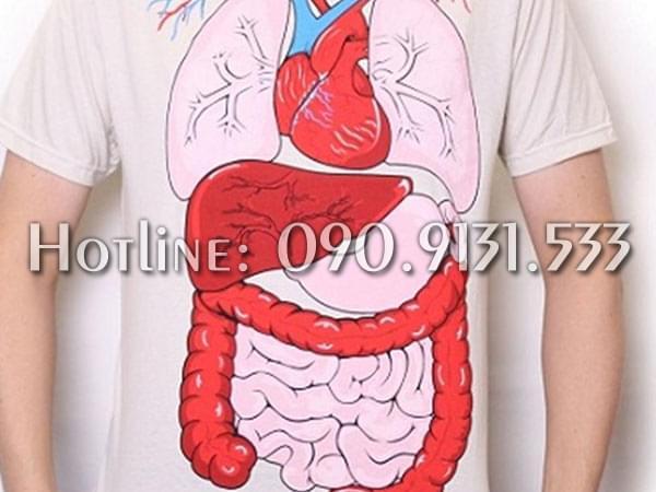 Rất nhiều loại ký sinh chuyên sống bên trong nội tạng