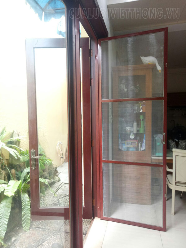 Cửa lưới Sài Gòn dạng đóng mở 1 cánh