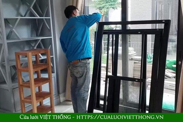 Những lưu ý khí lắp ráp cửa lưới chống muỗi nhà bếp