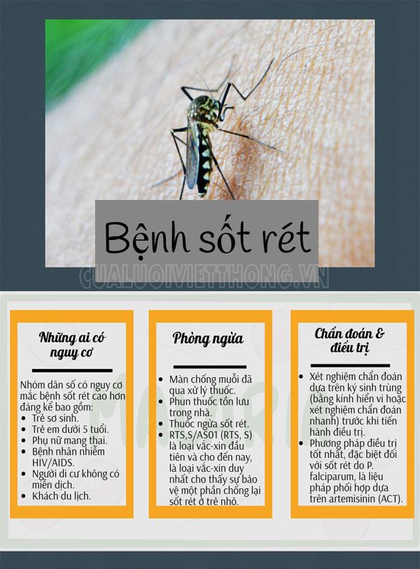 Thông tin về sốt rét bạn nên biết
