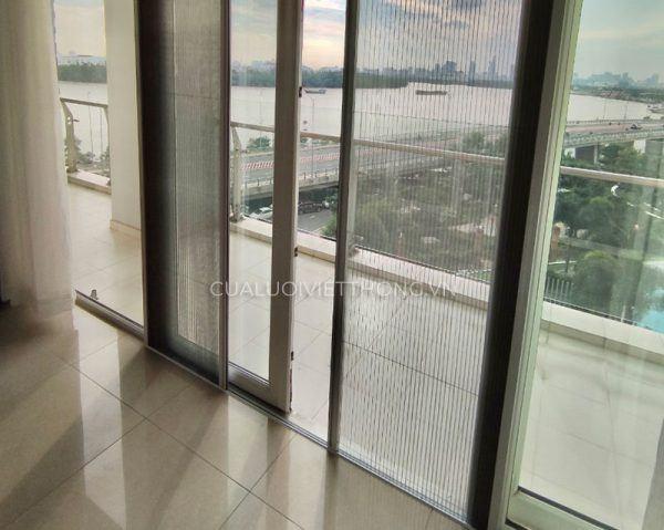 Ưu điểm của cửa lưới chống muỗi không ray dans Blogs product-cua-luoi-chong-muoi-dang-xep-khong-ray-600x479