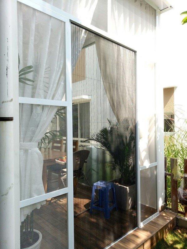 Cửa lưới chống muỗi dạng lùa giúp chống muỗi hiệu quả
