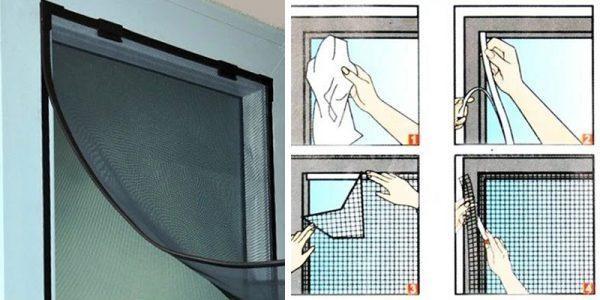 Hướng dẫn tự làm cửa lưới chống muỗi